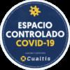 certificado espacio controlado covid19